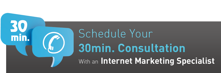 30 min Consultation with an Internet Marketing Specialist